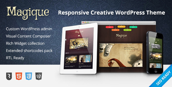 Magique – Ultimate Creative WordPress Theme