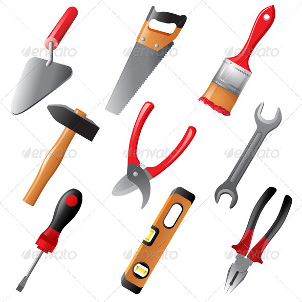 Working Tools  - Man-made Objects Objects