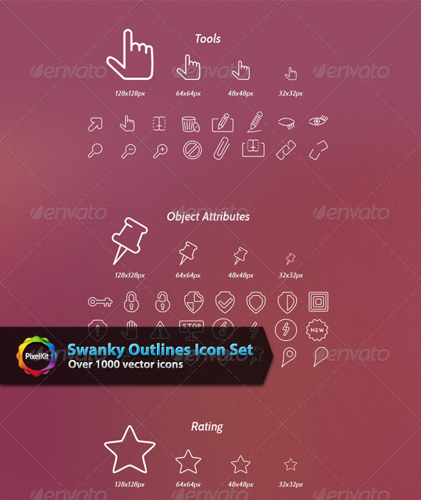 Swanky Outlines Icon Set - Web Icons