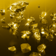 Golden Shattered Diamonds - VideoHive Item for Sale