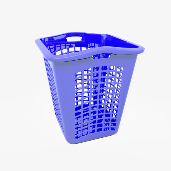 Laundry Basket - 3DOcean Item for Sale