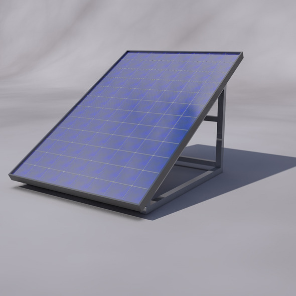Solar Panel - 3DOcean Item for Sale