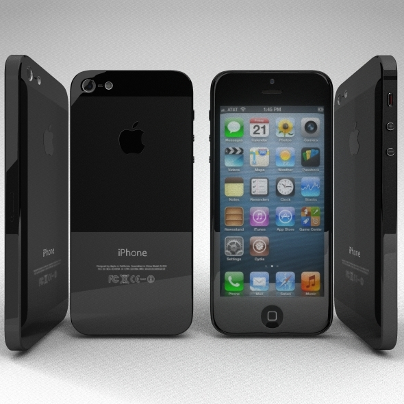 Iphone 5 - 3DOcean Item for Sale