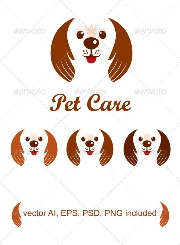 Pet Care - Animals Logo Templates