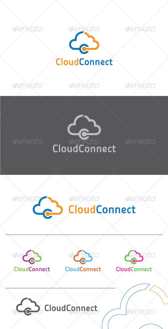 Cloud Connect Logo Template - Symbols Logo Templates