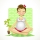 Yoga for Pregnant Woman - GraphicRiver Item for Sale