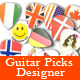 Guitar Picks Designer - CodeCanyon Item for Sale