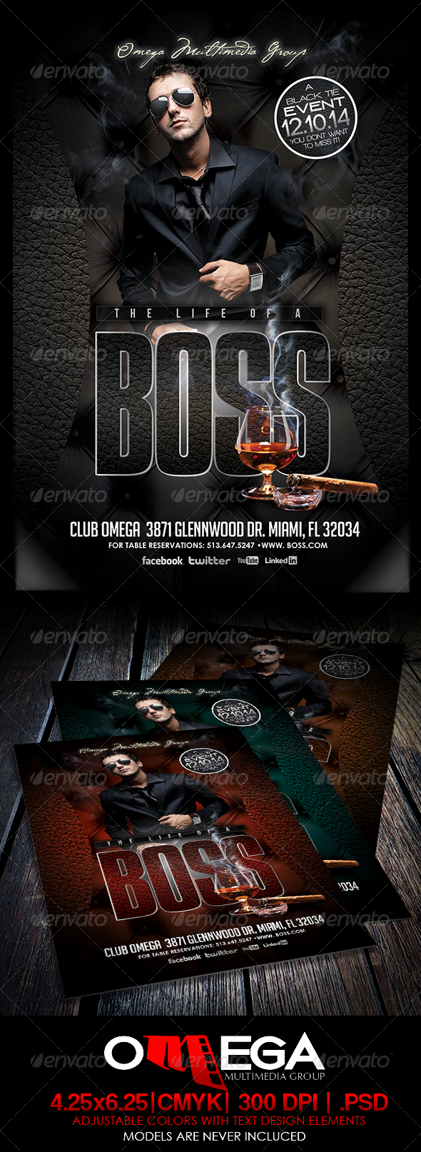 The Life of A Boss - Clubs & Parties Events