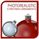 Christmas Ornaments Photorealistic - GraphicRiver Item for Sale