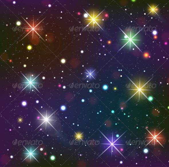 Starry Sky - Backgrounds Decorative