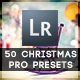 50 Christmas Pro Presets - GraphicRiver Item for Sale