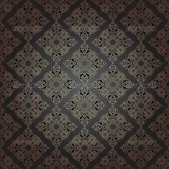 Seamless Pattern in Mosaic Ethnic Style. - Patterns Decorative