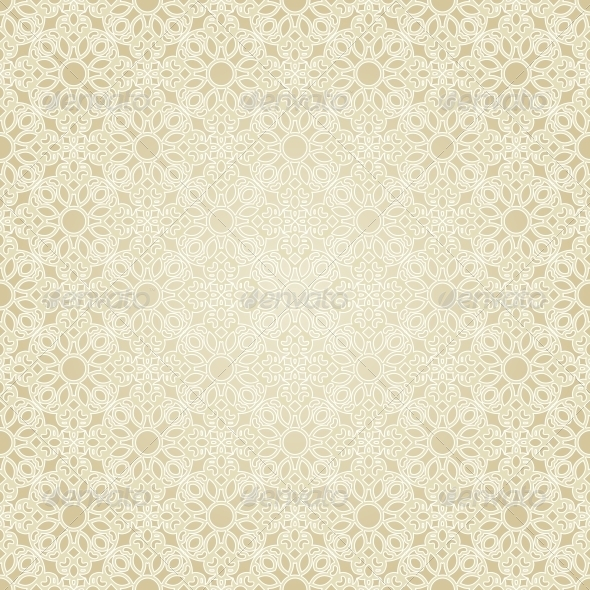 Seamless Pattern in Mosaic Ethnic Style - Patterns Decorative