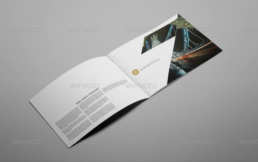 Portfolio Brochure Template Idealstalist