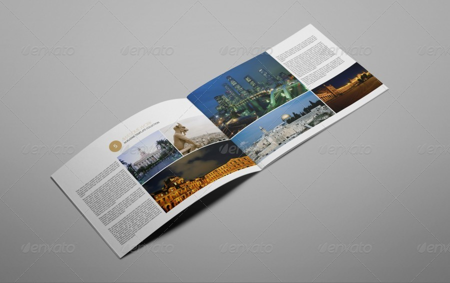 City Portfolio Brochure Template By Riverpixelsstudio GraphicRiver - Portfolio brochure template