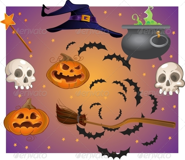 Halloween Objects - Halloween Seasons/Holidays