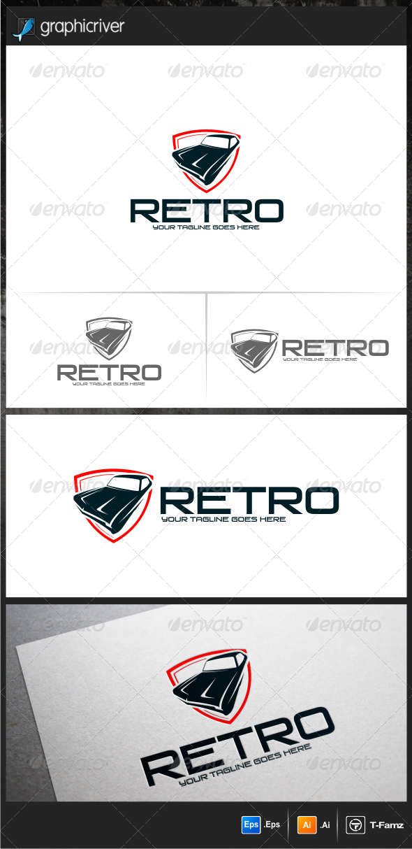 Retro Logo Templates - Objects Logo Templates