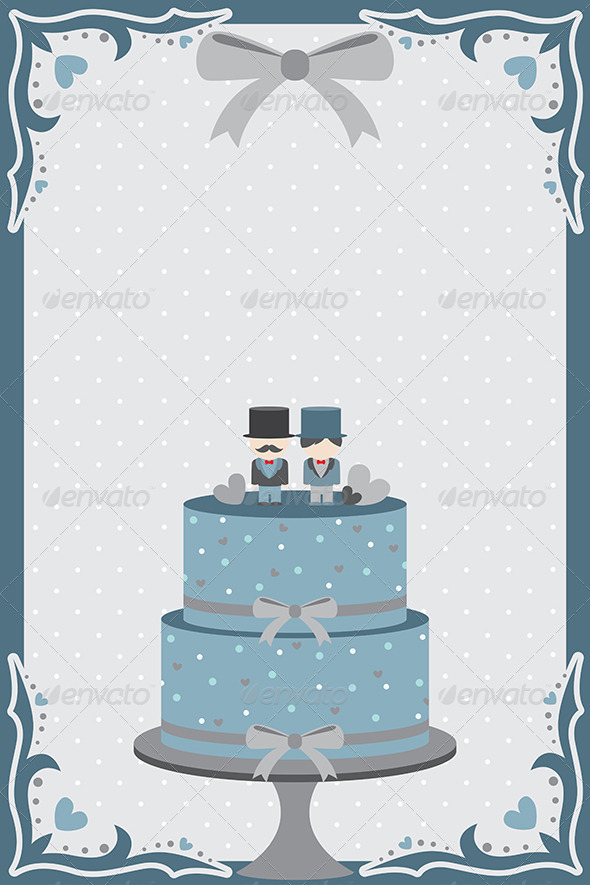 Gay Wedding Cake - Weddings Seasons/Holidays