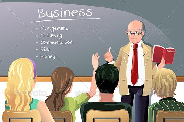 Business Teacher - Business Conceptual