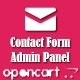 Opencart contact form to admin panel - CodeCanyon Item for Sale