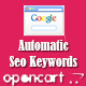 Opencart Auto Seo Keywords - CodeCanyon Item for Sale