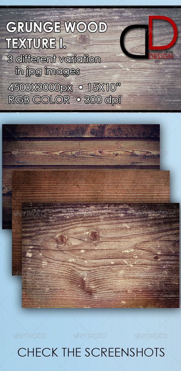 Grunge Wood Texture I. - Wood Textures