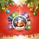 Christmas with Gifts and Santa - GraphicRiver Item for Sale
