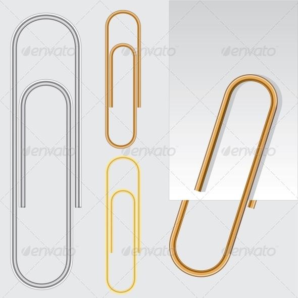 Paper Clip - Decorative Symbols Decorative