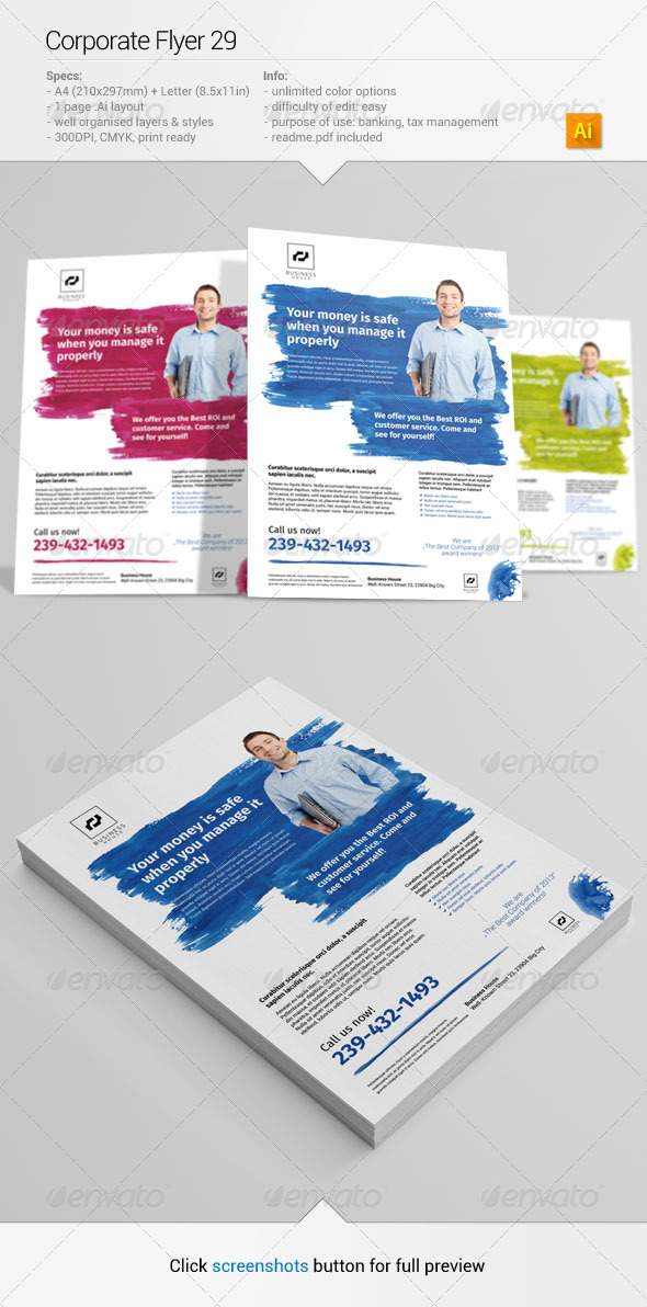 Corporate Flyer 29 - Corporate Flyers