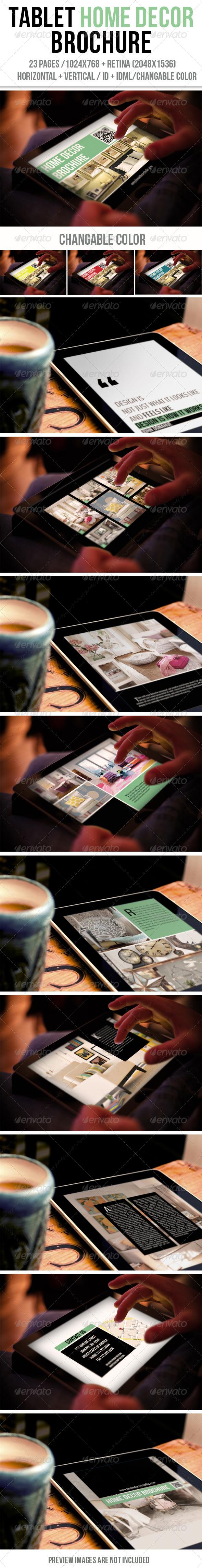 iPad & Tablet Home Decor Brochure - Digital Magazines ePublishing