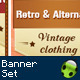 36 - Vintage Banner Set - GraphicRiver Item for Sale