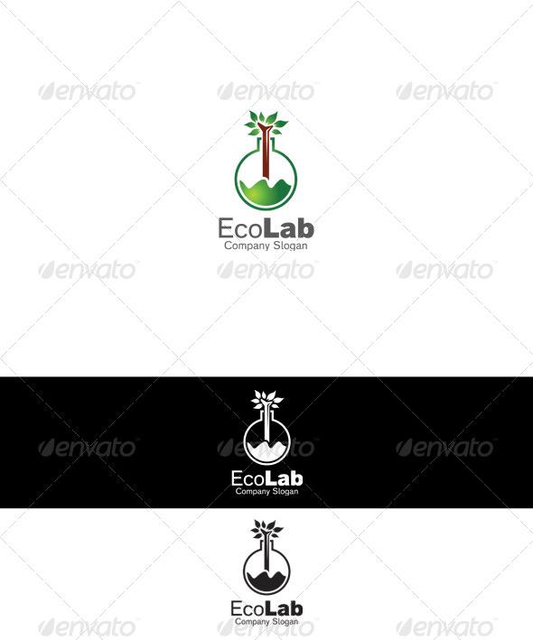Eco Lab Logo - Nature Logo Templates