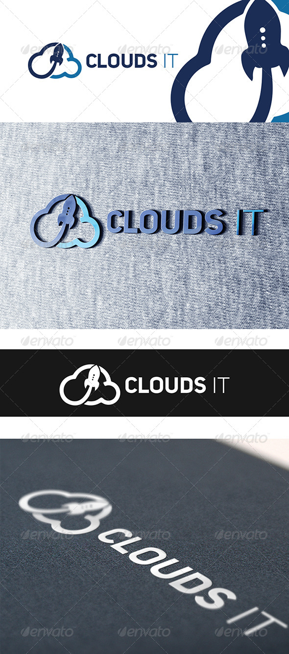 Cloud It  - Abstract Logo Templates