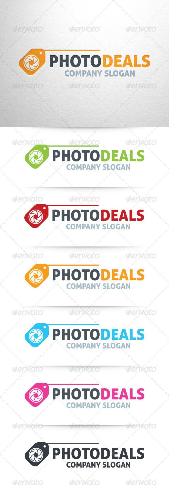 Photo Deals Logo Template - Symbols Logo Templates