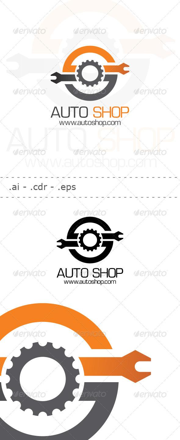 Auto Shop Logo - Symbols Logo Templates