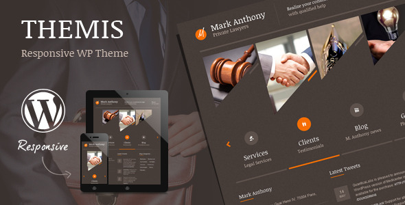 Themis - Law Lawyer Business WordPress Theme - Business Corporate
