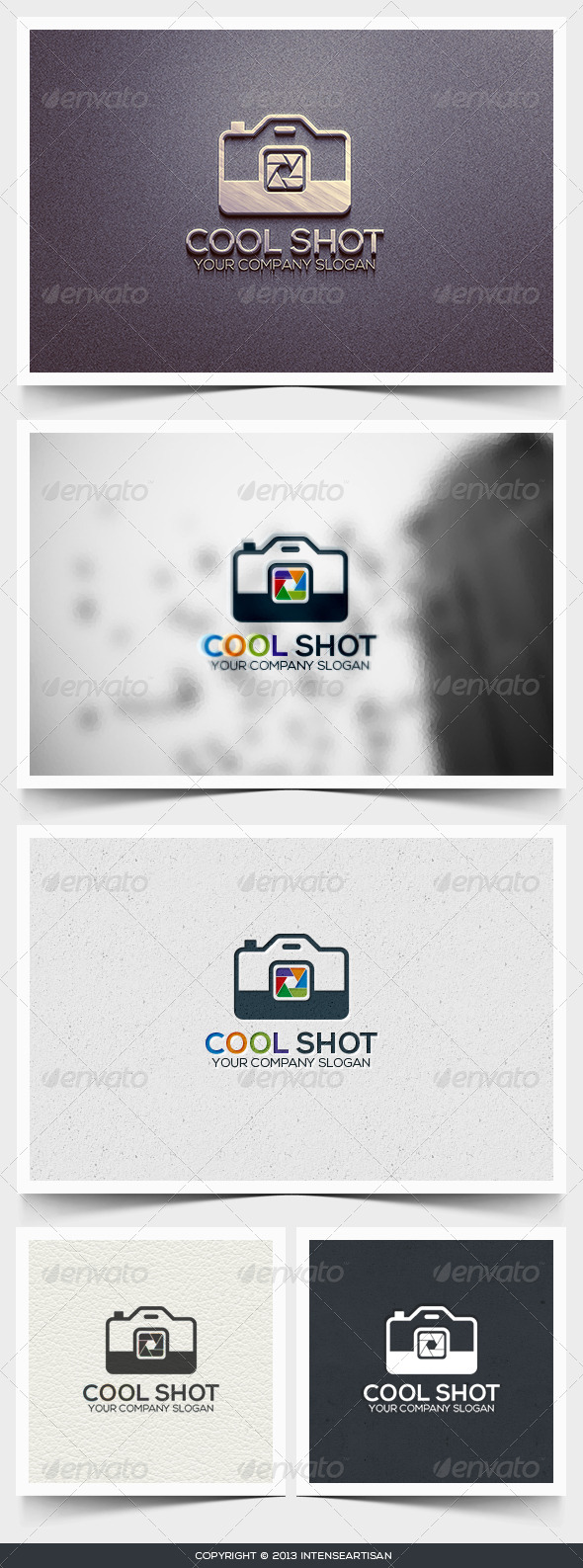 Cool Shot Logo Template - Objects Logo Templates