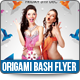 Origami Bash 2014 Flyer Template - GraphicRiver Item for Sale