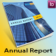 Annual report template 16 pages  - GraphicRiver Item for Sale