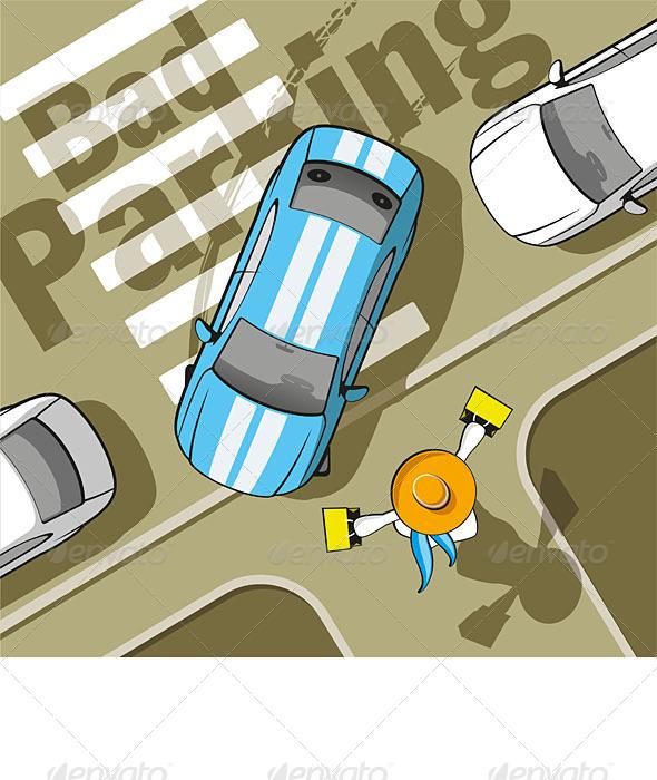 Bad Parking - Miscellaneous Conceptual