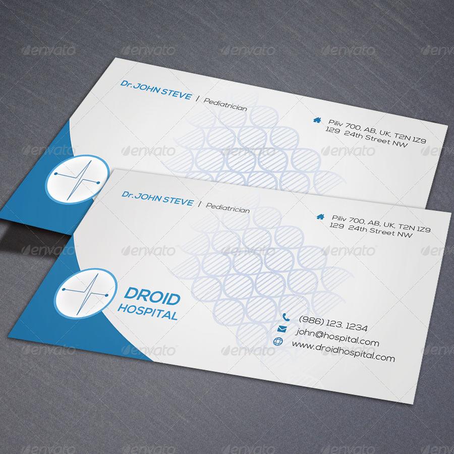 Medical Creative Business Card v0 by oksrider | GraphicRiver