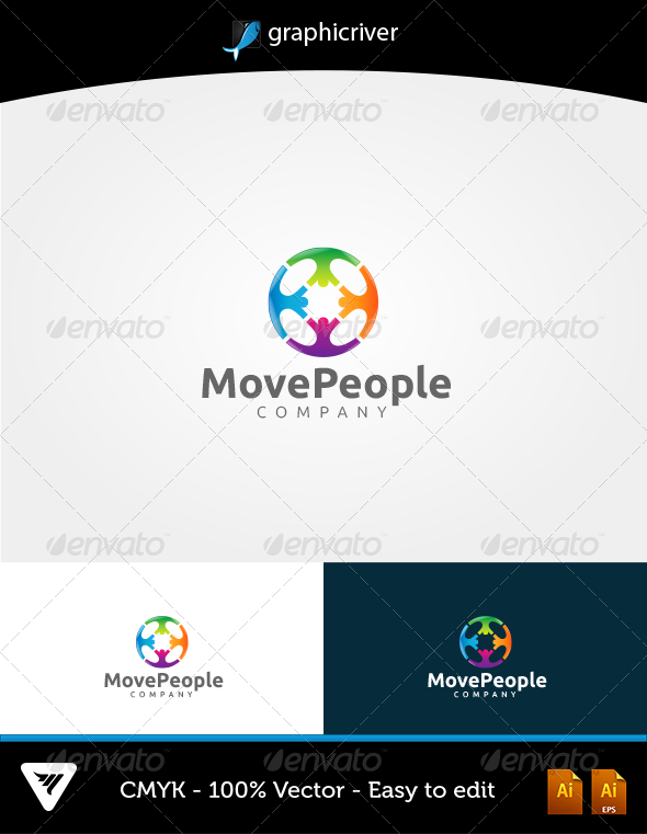 MovePeople Logo - Logo Templates
