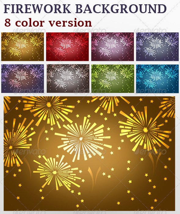 Firework Backgrounds - Miscellaneous Backgrounds