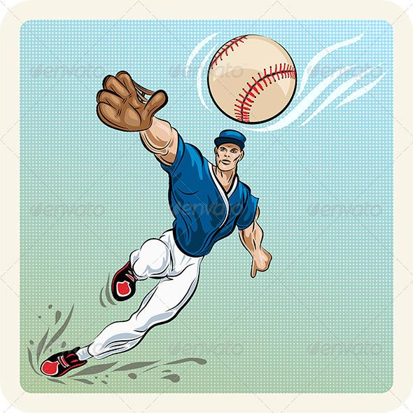 The Catcher - Sports/Activity Conceptual