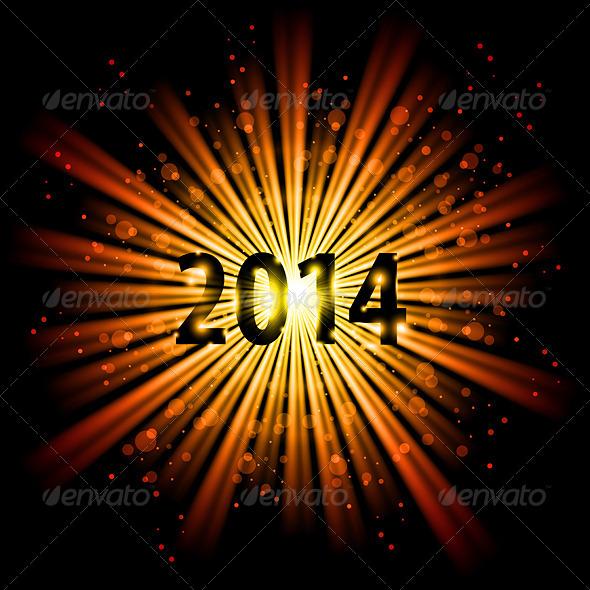 2014 in Starlight - New Year Seasons/Holidays