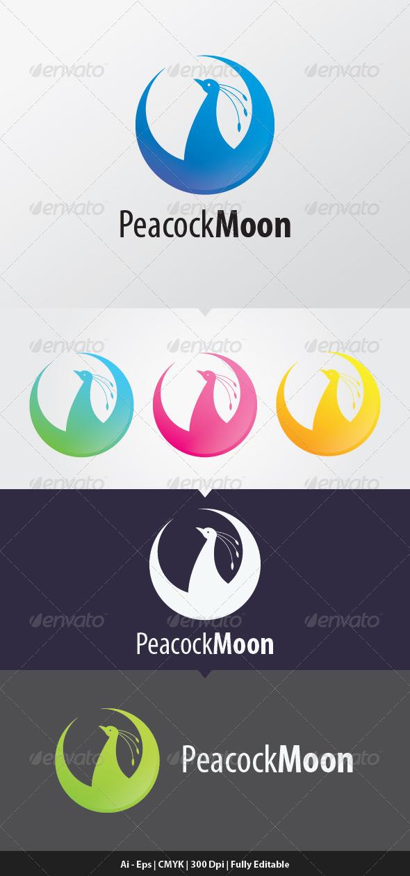 PeacockMoon Logo Template - Animals Logo Templates