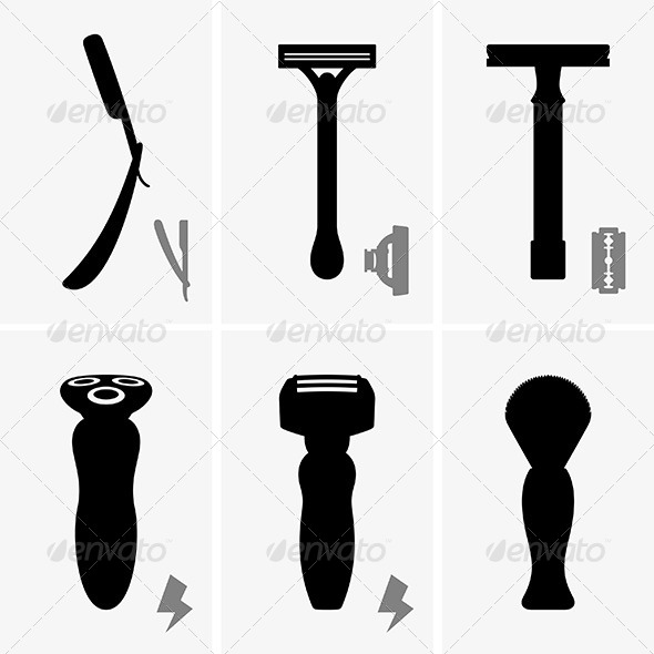Razors - Man-made Objects Objects