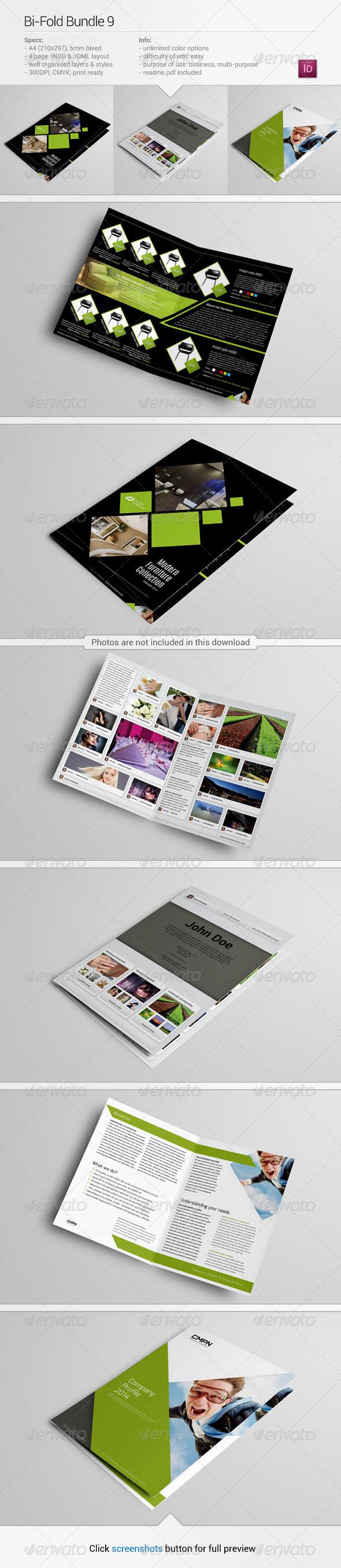Bi-Fold Bundle 9 - Corporate Brochures