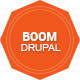 Boom - Responsive Onepage Drupal Theme - ThemeForest Item for Sale