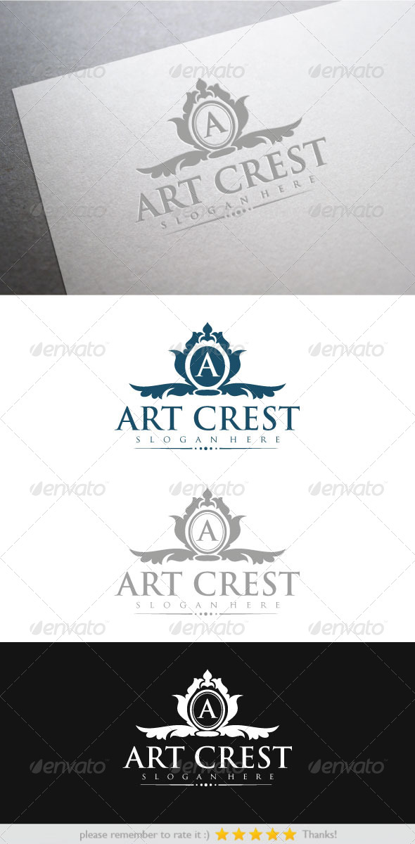 Art Crest - Vector Abstract